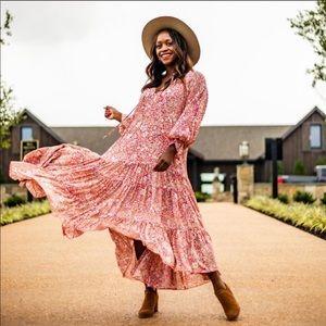 🔥🔥🔥NWT O.P.T Anthropologie prairie floral dress